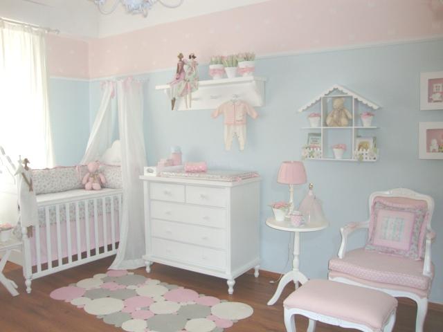 Decoração Quarto Bebê Coisas de Criança ~ Quarto Rosa E Azul