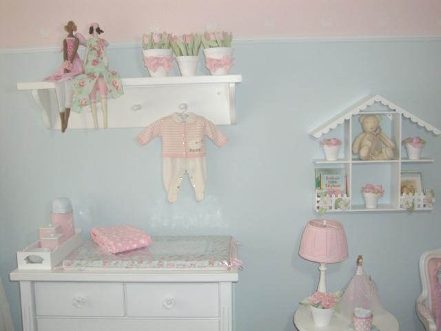 Decoracao Quarto De Bebe Azul E Rosa ~ Decora??o Quarto Beb? Pink Quarto Azul e Rosa Turquesa Deixe o seu