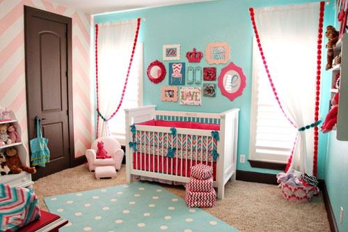 Quarto Azul e Rosa Coisas de Criança ~ Quarto Rosa E Turqueza